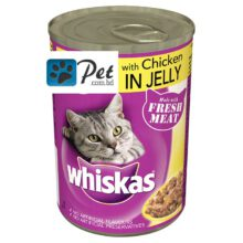 Whiskas Can in Jelly with Chicken