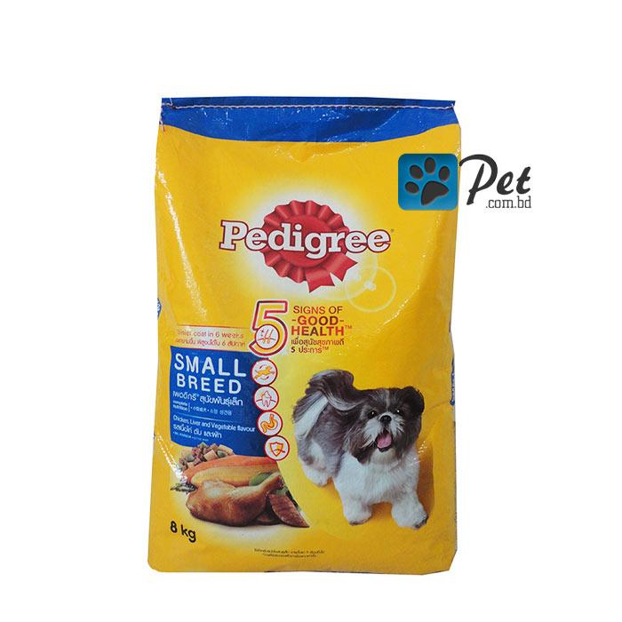 Pedigree Small Breed Chicken Liver Veg 8kg Petcombd