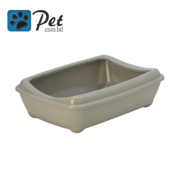 Moderna Semi Open Cat litter Box - Gray