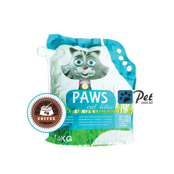 Paws Clumping Cat Litter - Coffee