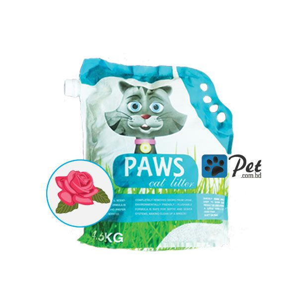 Paws Clumping Cat Litter - Rose