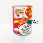 Meow Meow Cat Can - Tuna & Sardine in Jelly (400g)