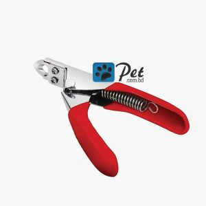 Nail Clipper for Pets (Guillotine Cutter) - Red