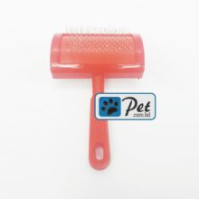Pet Slicker Brush (Red)