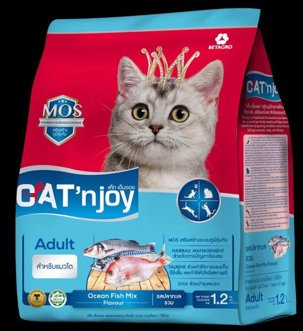 CAT'nJoy Adult Ocean Fish Mix Flavor (1 2kg)