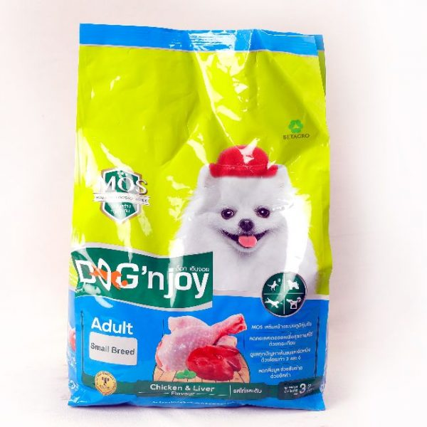 Dog'nJoy Adult Small Breed Chicken & Liver Flavor (3Kg)