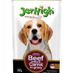 JerHigh Dog Pouch - Beef Grilled & Carrot in Gravy