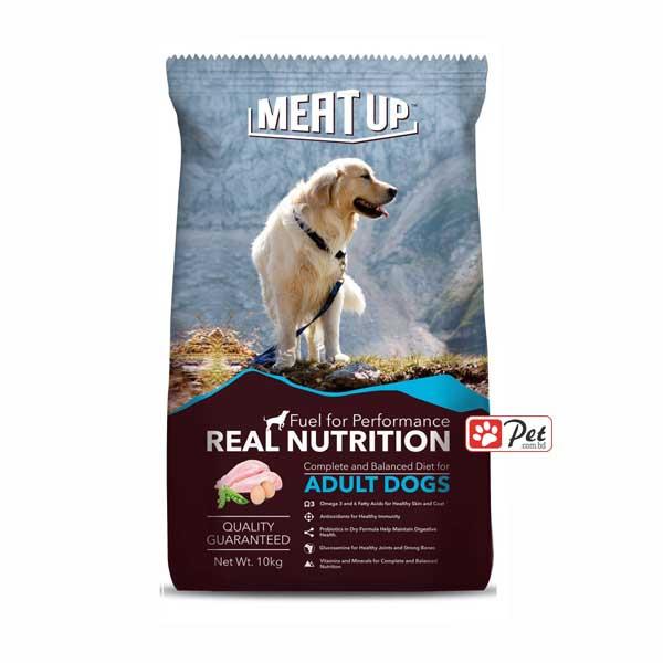 Meat Up Dog Food - Chicken, Peas & Egg Flavor