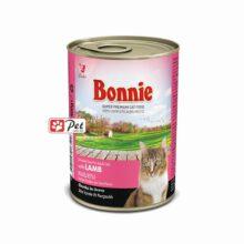 Bonnie Cat Can - Lamb Chunks in Gravy (415g)