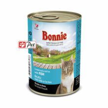 Bonnie Cat Can - Salmon Chunks in Gravy (415g)