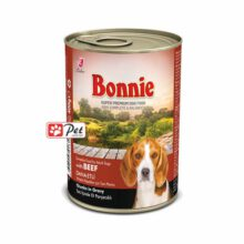 Bonnie Dog Can - Beef Chunks in Gravy (400g)