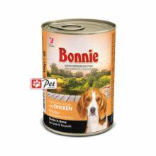 Bonnie Dog Can - Chicken Chunks in Gravy (400g)